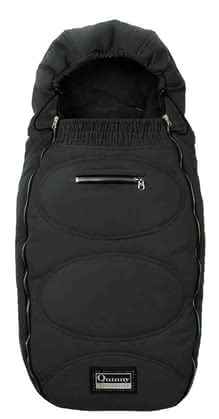 Quinny footmuff for Freestyle 3XL Comfort 2011, Black - большое изображение
