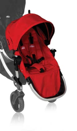 Baby Jogger Second Seat for City Select, Ruby 2012 - большое изображение