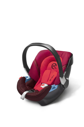 Cybex baby car seat Aton 2 Poppy Red-red 2013 - большое изображение