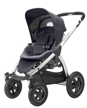 Maxi-Cosi Mura 4 stroller + Maxi-Cosi Dreami carrycot attachment Total Black 2015 - большое изображение
