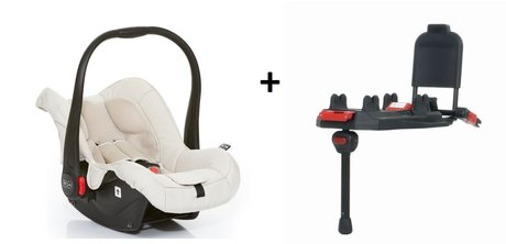 ABC-Design Babyschale Risus inkl. Isofix Base sheep 2016 - большое изображение