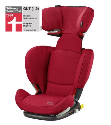 Maxi-Cosi safety seat RodiFix AirProtect® Robin red 2017 - большое изображение