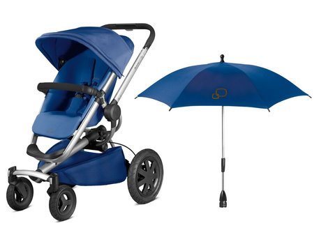 Quinny Buzz Xtra incl. parasol Blue Base 2016 - большое изображение