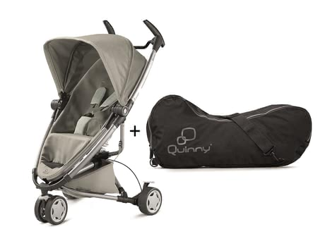 Quinny Zapp Xtra 2.0 Grey Gravel incl travel bag 2016 - большое изображение